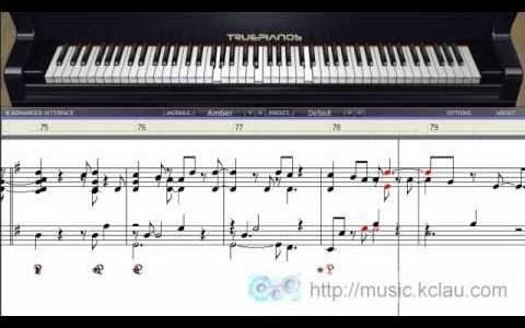 最美的泪光 Piano Solo